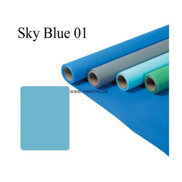 Égkék papírháttér (2,72x11m)
