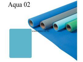 Vízkék papírháttér (2,72x11m)