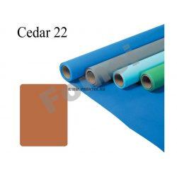Cedar papírháttér (2,72x11m)