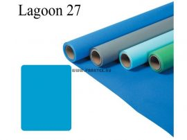Lagúnakék papírháttér (2,72x11m)