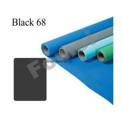Black 68 papírháttér (2,72x11m)